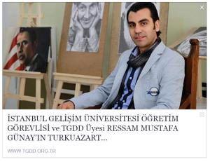 TGDD ressam mustafa günay ın turkuazart resim atölyesinin açılış haberi